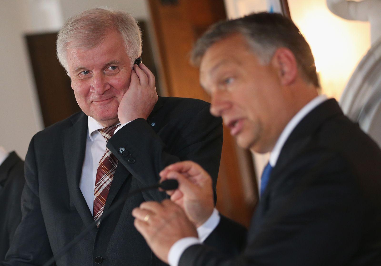 Seehofer / Orban