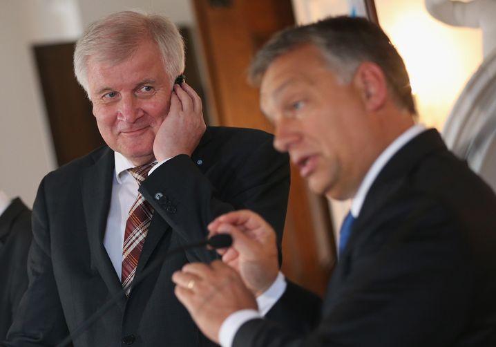 Regierungschef Seehofer, Orbán in Kloster Banz