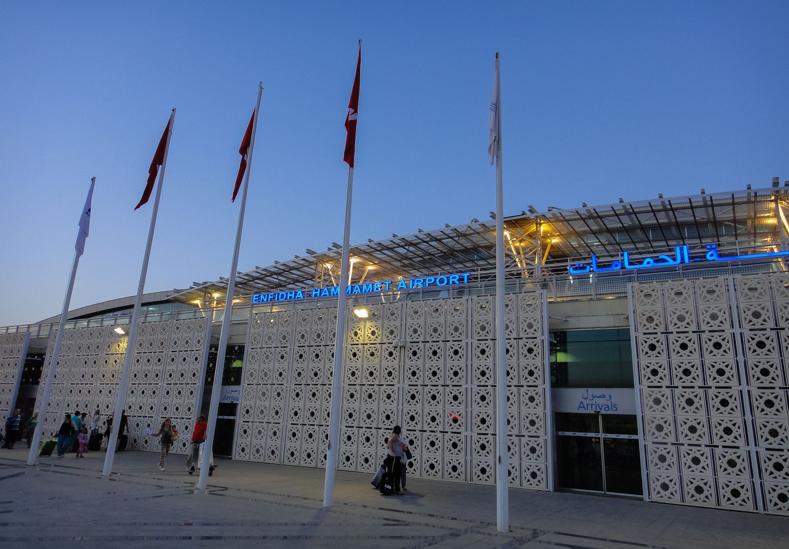 EINMALIGE VERWENDUNG Tunesien/ Enfidha-Hammamet Internationaler Flughafen