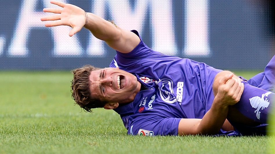 Florenz-Stürmer Gomez: Innenbandteilriss im rechten Knie