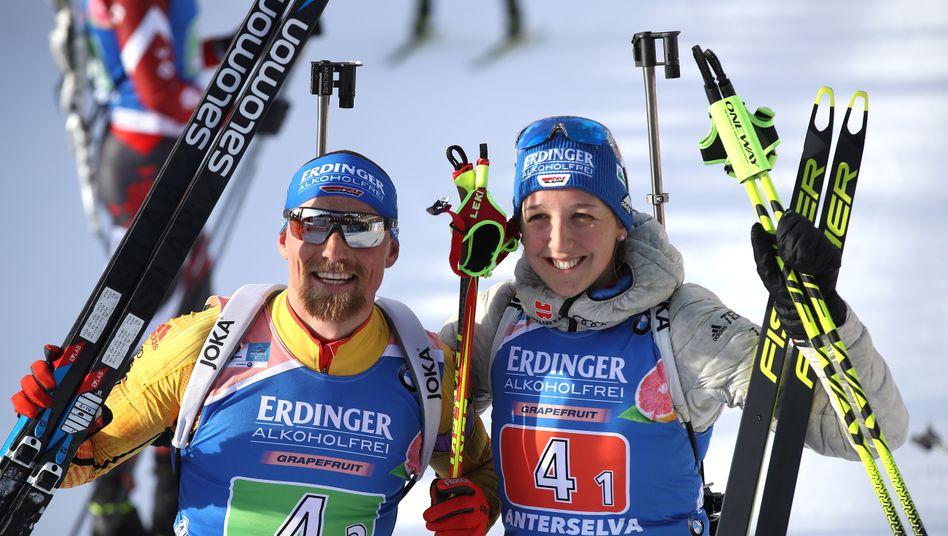 Biathlon single mixed staffel