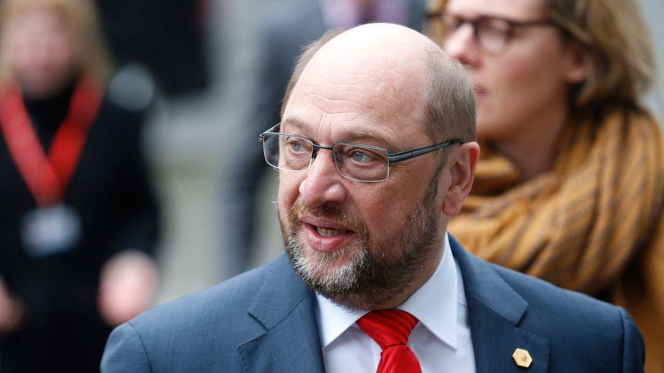 """EU-Parlamentspräsident Schulz: """"Die Linie, die wir von ihm erwarten, hat er nicht verlassen"""""""