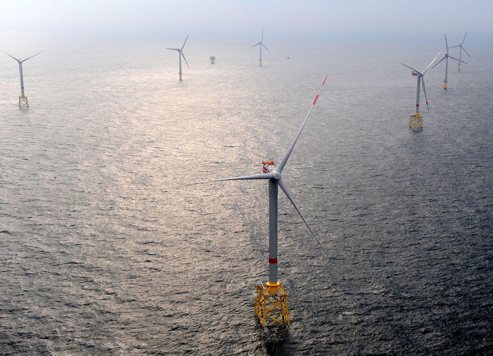 Offshore Windpark / Alpha Ventus / Borkum