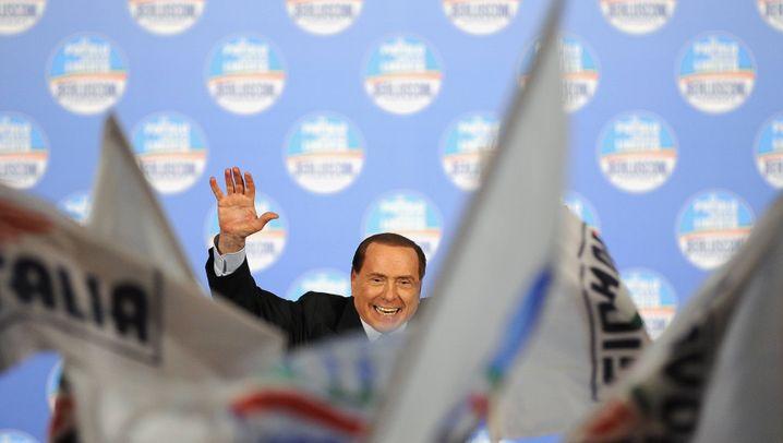 Wahl in Italien: Die Wut der Berlusconi-Anhänger