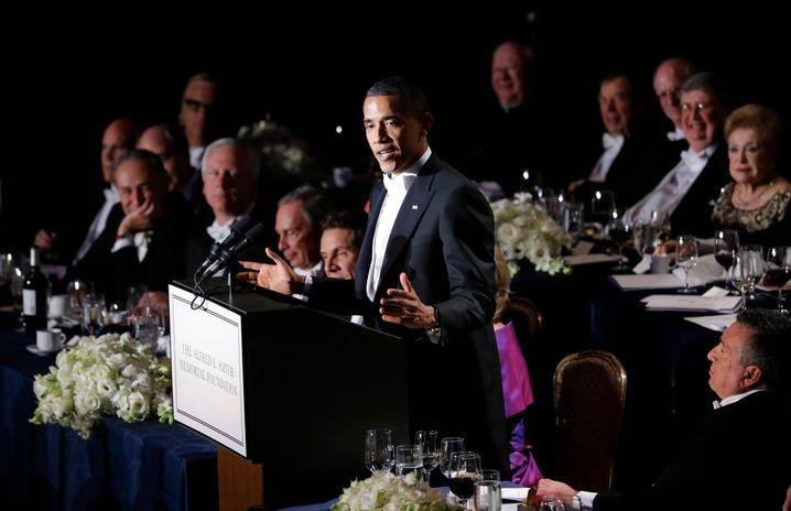 Incontro del Capo di Stato: il presidente Barack Obama alla Waldorf Astoria (2012)