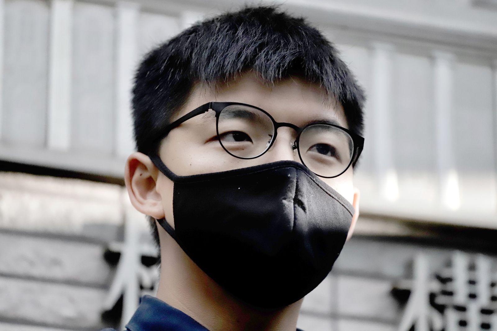 Haft von Joshua Wong um vier Monate verlängert