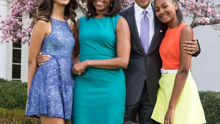 Obama-Töchter: Als Kinder im Weißen Haus