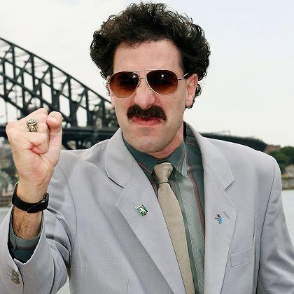 Borat-Darsteller Cohen: Kein guter Schnitt für College-Boys