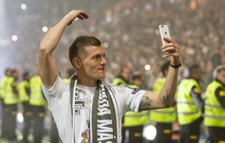Fußballspieler Toni Kroos