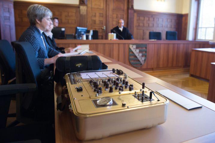 Lügendetektor im Amtsgericht Bautzen (Sachsen)