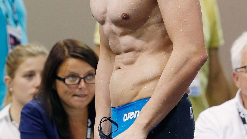 """Schwimmer Biedermann: """"Sehen, wo man sich zerschießt"""""""