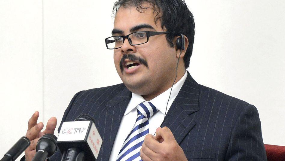 Pressekonferenz in Pjöngjang: Texaner Martinez wettert gegen die USA