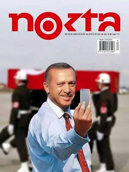 EINMALIGE VERWENDUNG NUR ALS ZITAT/ NOKTA/ Erdogan