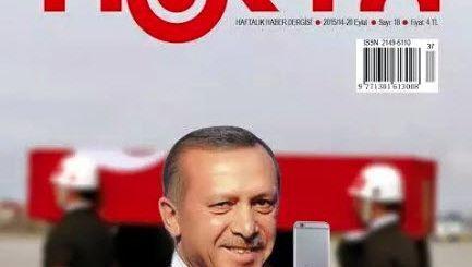 """""""Nokta""""-Cover mit Erdogan: Polizei in der Redaktion"""