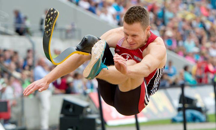 Weitspringer Rehm: Mit 8,24 Metern zur deutschen Meisterschaft