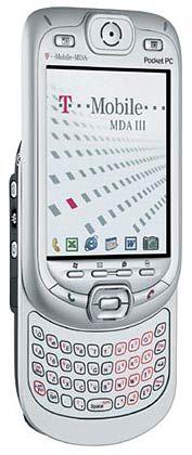 Aus dem PDA soll eine E-Mail-Maschine werden: Ende des Jahres will T-Mobile seinen Taschencomputers MDA III auch mit Blackberry-Funktion verkaufen, sodass User unterwegs per Push-Dienst E-Mails empfangen können. Das Gerät besitzt in seiner derzeitigen Version zudem eine Digitalkamera und ermöglicht Internetsurfen via W-Lan.