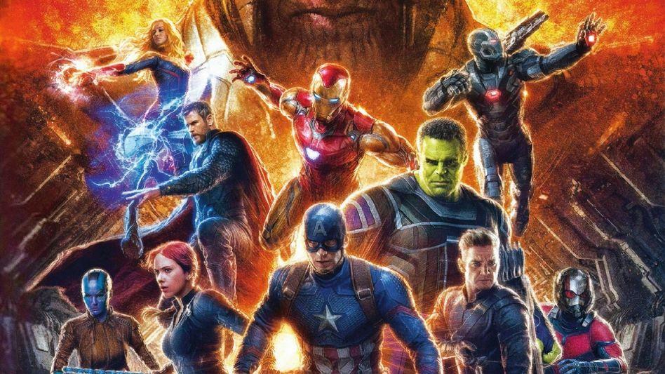 """Werbemotiv für """"Avengers: Endgame"""""""