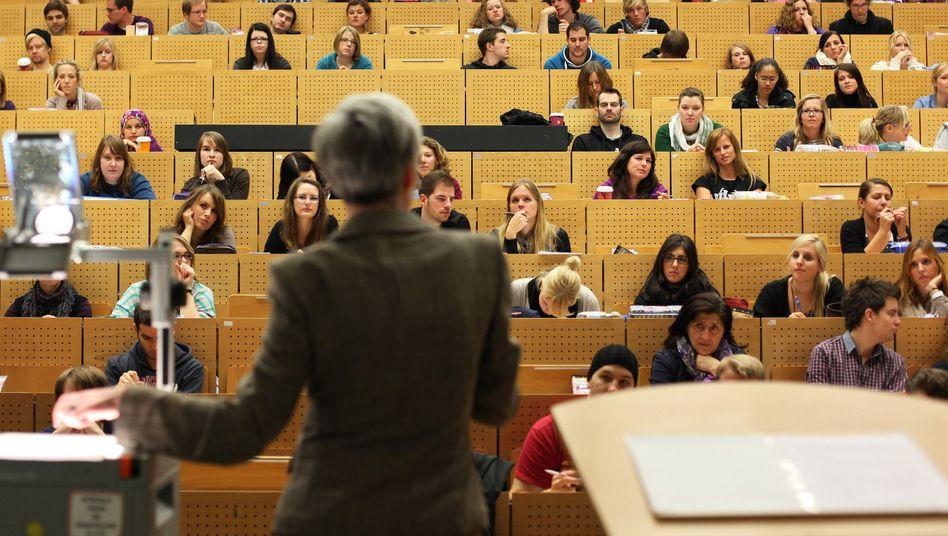 Vorlesung in Bochum (Archivbild)