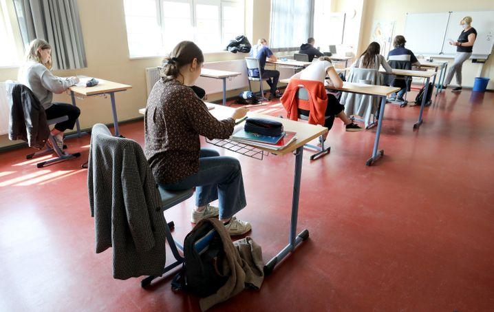 Unterricht an Gymnasium in Rostock: Bis Normalität einkehrt, wird es noch lange dauern
