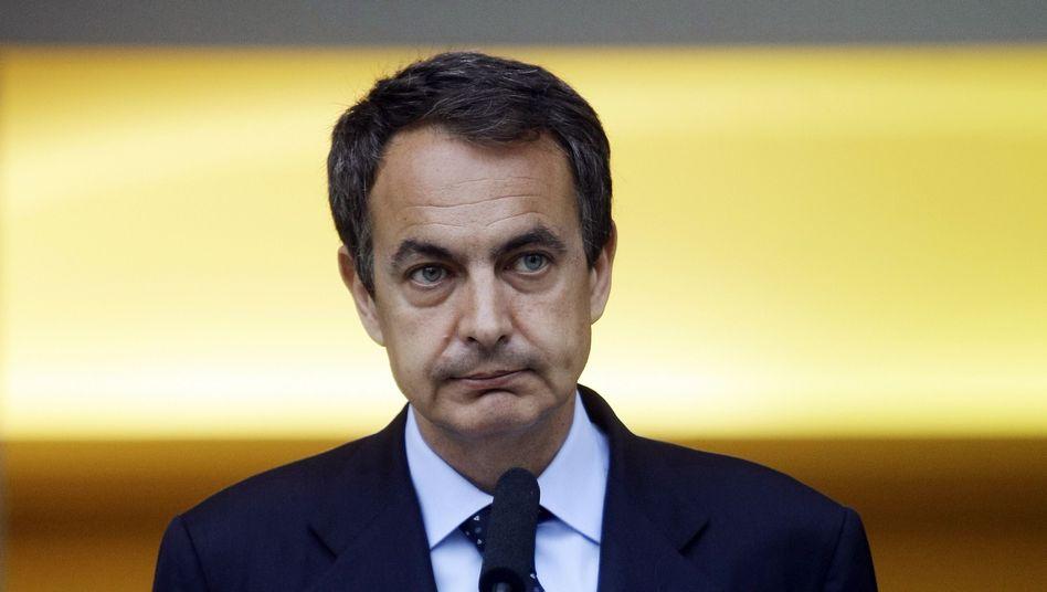 Spaniens Premier Zapatero: Herabstufung nach monatelanger Krise