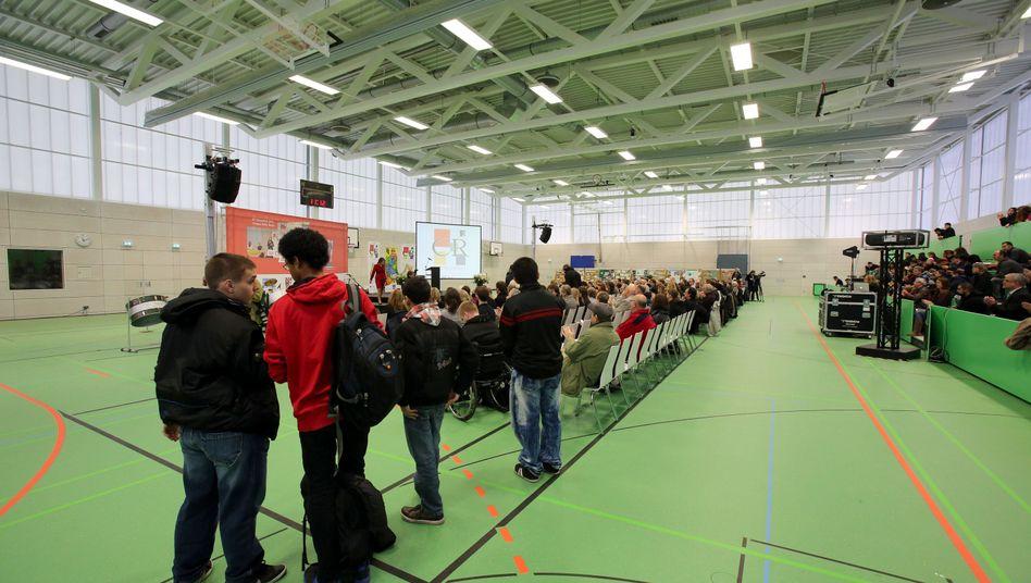 Neue Quartierssporthalle auf dem Campus Rütli: Einstige Problemschule als Modell