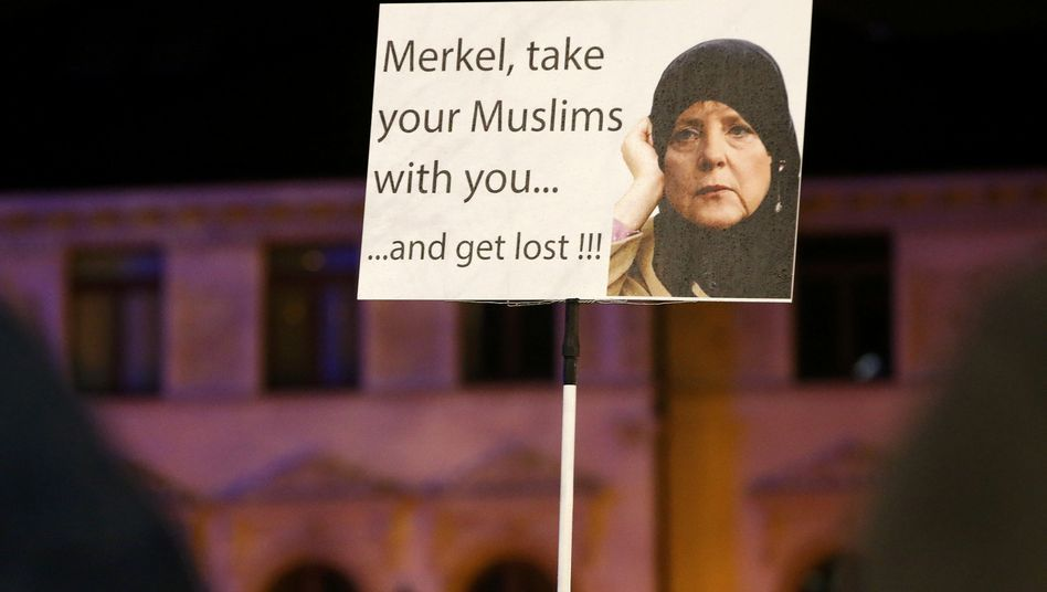 The mood in Germany is rapidly shifting, and Chancellor Angela Merkel is under fire.