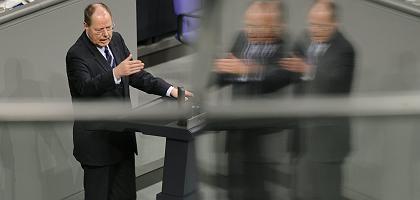 Finanzminister Steinbrück: Unklar, wer im Schatten der Minister steht