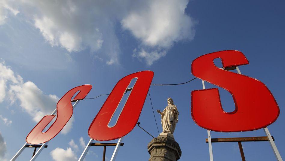 Protest am ArcelorMittal in Frankreich: Zum Verkauf von Fabriken zwingen