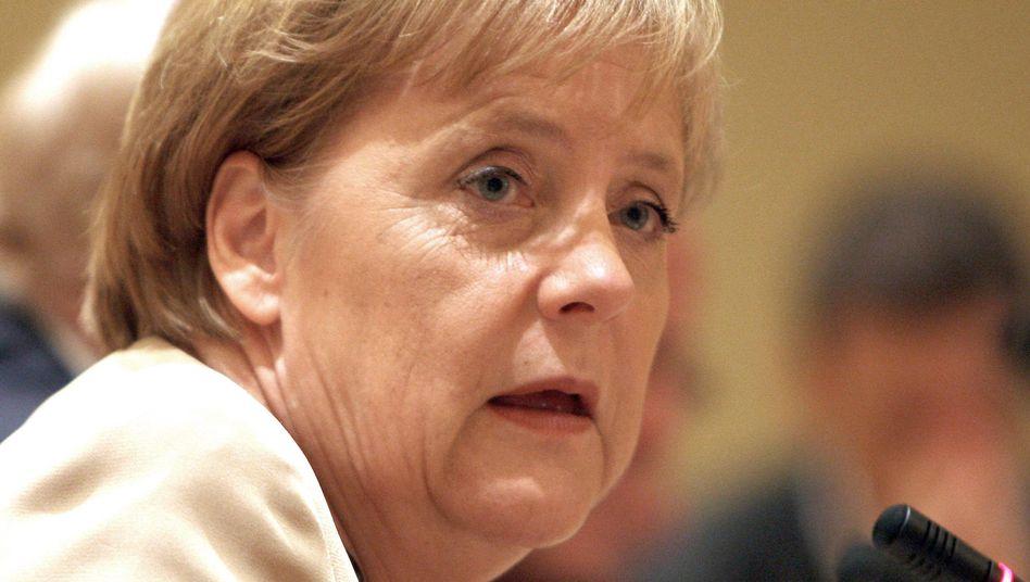 CDU-Chefin Angela Merkel: Der Partei brechen die Mitglieder weg