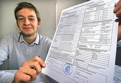 Abiturient Philipp Rauch, 19: Die Notenskala gesprengt