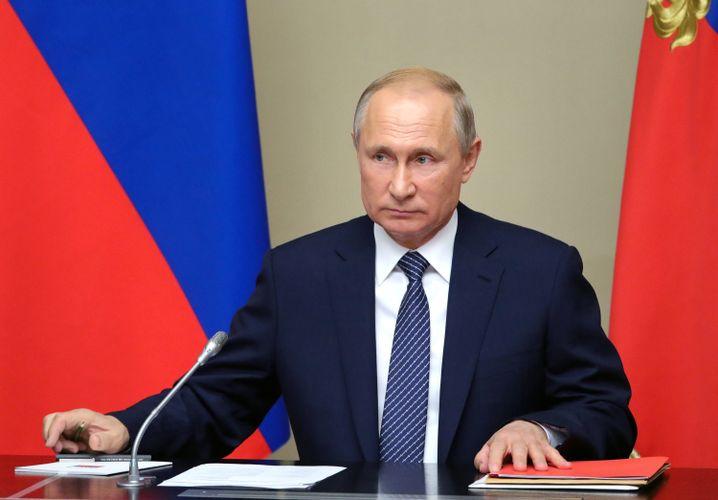 Russlands Präsident Putin: Wunderwaffe im Rüstungswettlauf mit den Vereinigten Staaten