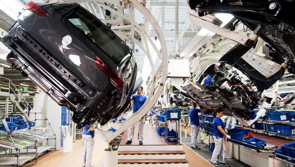 Autoproduktion in Wolfsburg: China als rettender Markt