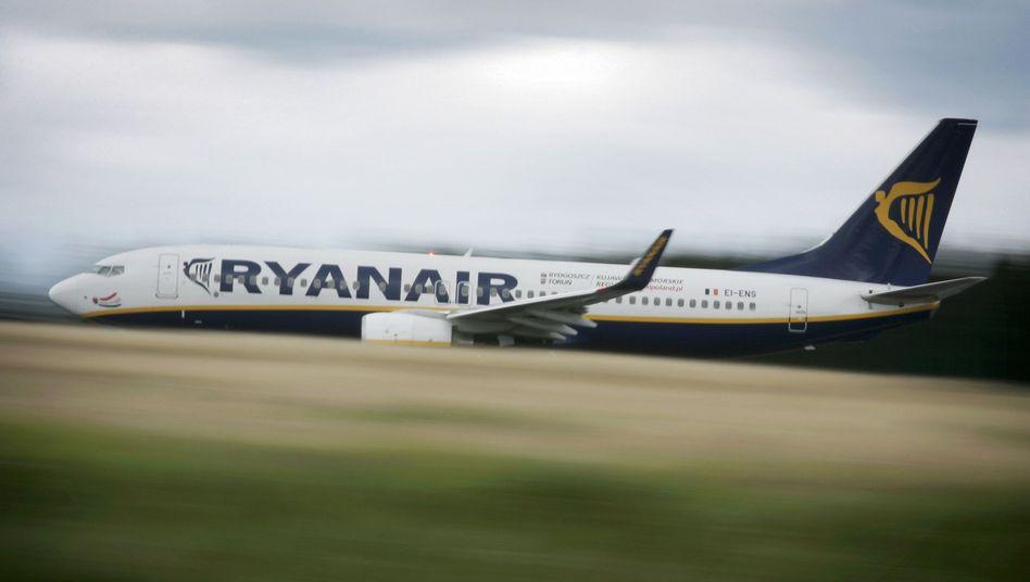 Ryanair-Maschine am Flughafen Frankfurt-Hahn: Schwerer als angegeben?