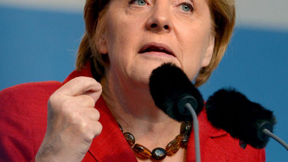 Bundeskanzlerin Merkel: Militärische Beteiligung nicht in Betracht gezogen