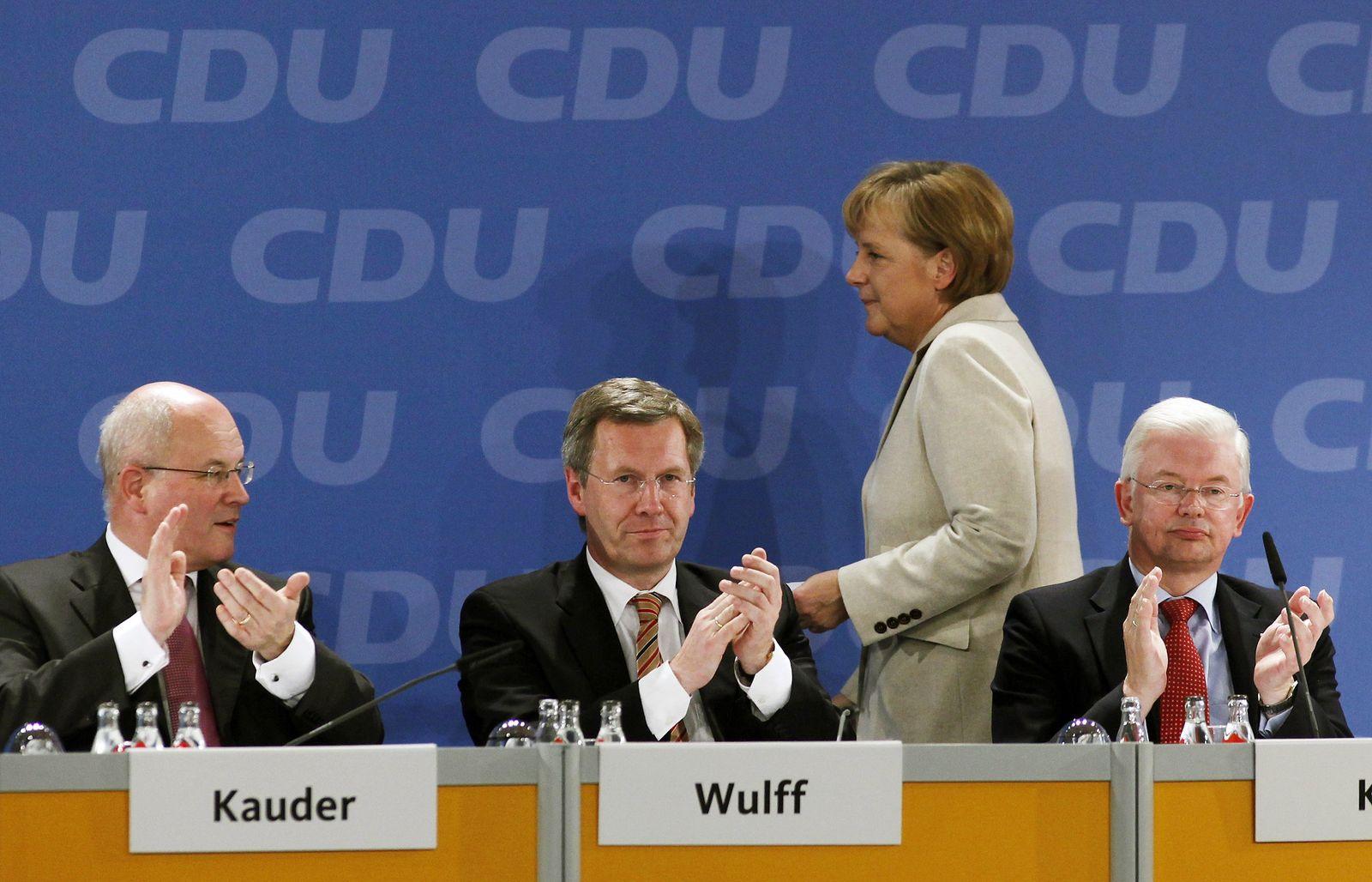 Merkel / Koch / Wulff
