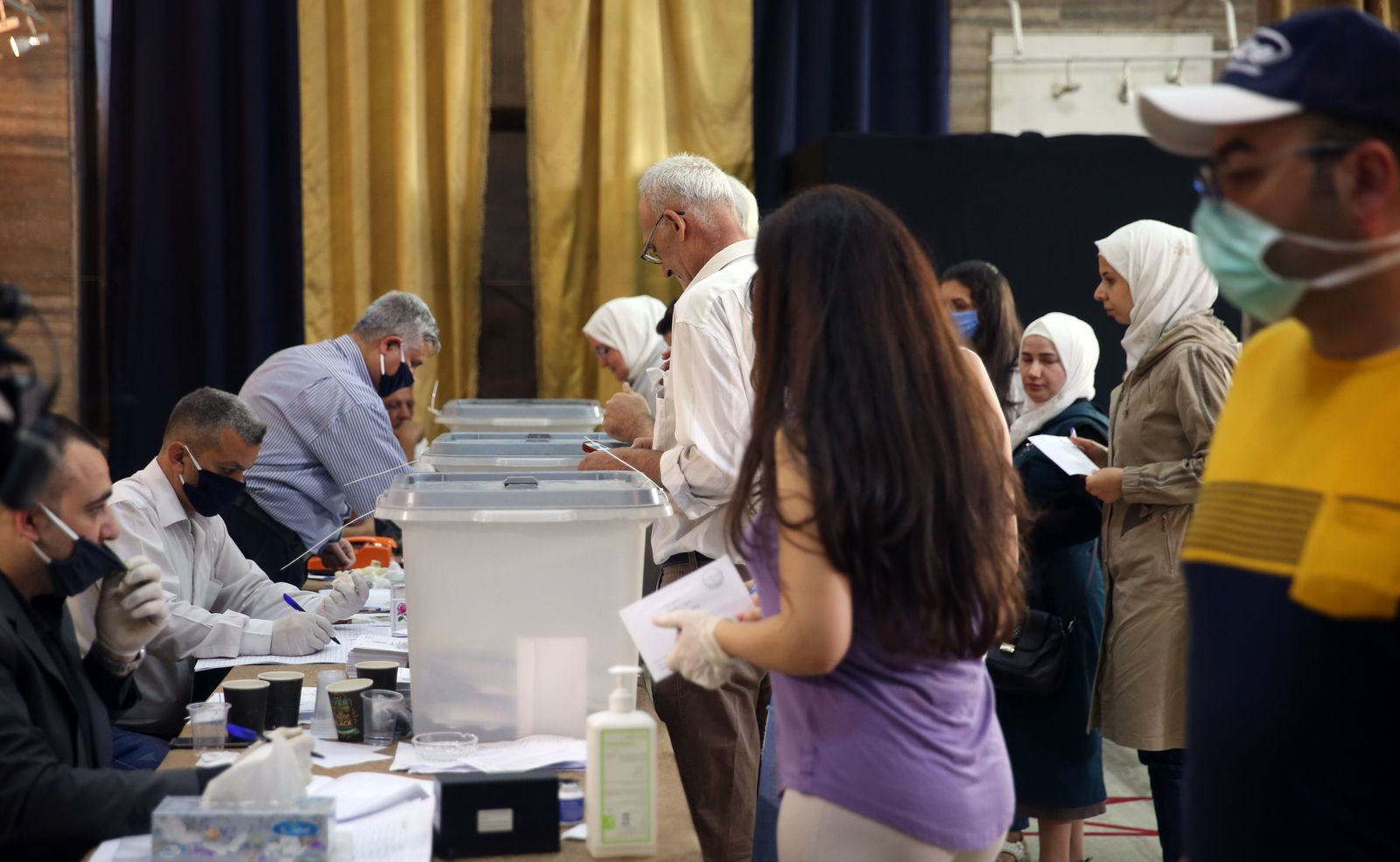 Parliamentary elections in Syria, Damascus - 19 Jul 2020