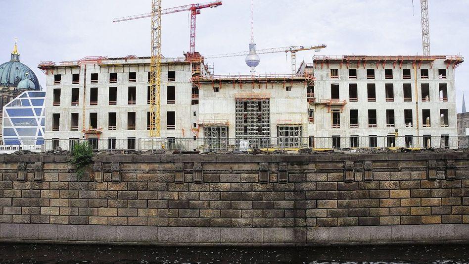 Stadtschloss-Baustelle in Berlin: »Es gibt keinen Cent mehr vom Bund«