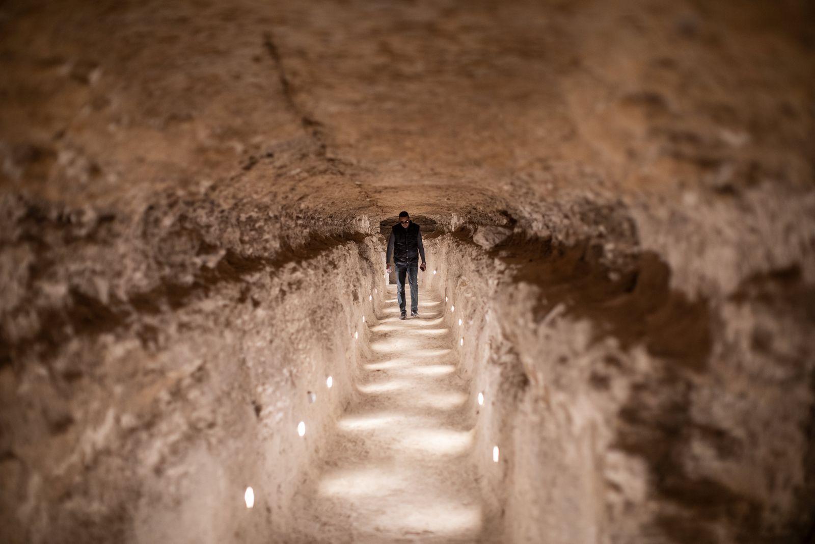Älteste Pyramide Ägyptens wiedereröffnet