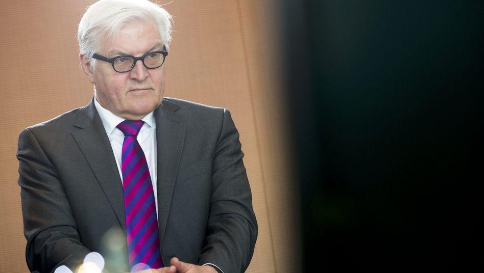 """Außenminister Steinmeier: """"Komplexe Erinnerungen sind selten auf einen Begriff zu bringen"""""""