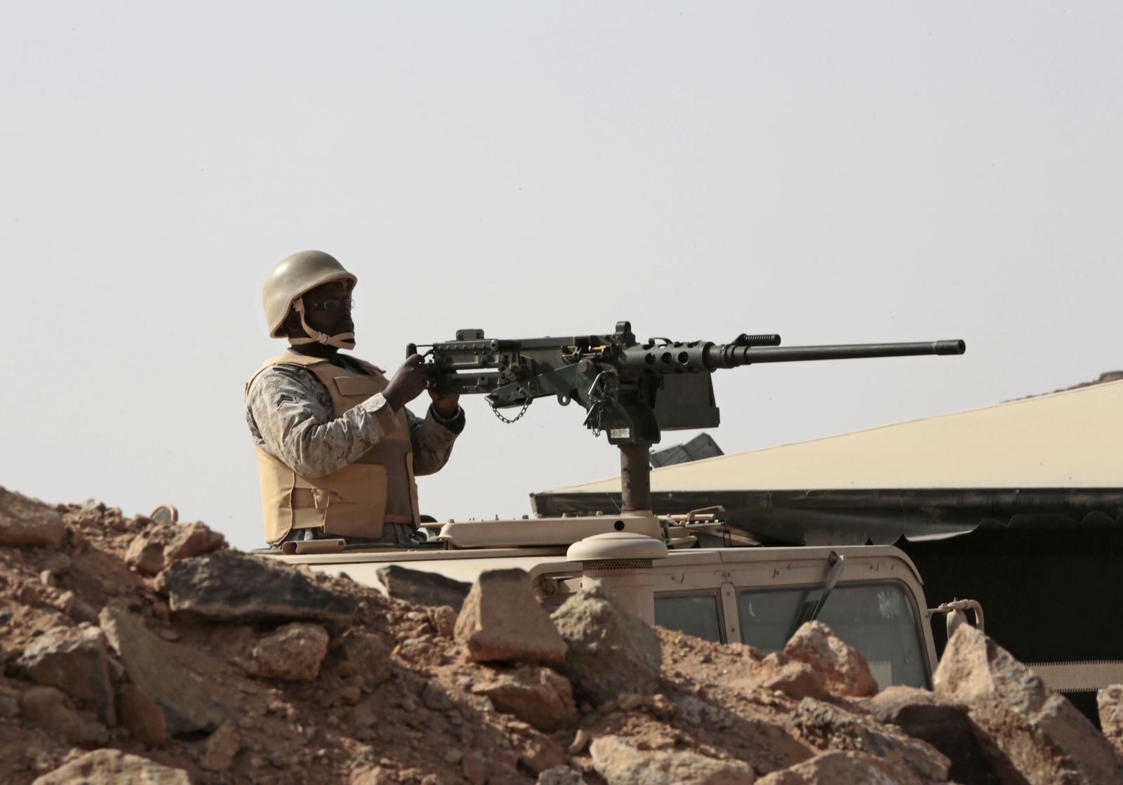 Saudischer Soldat