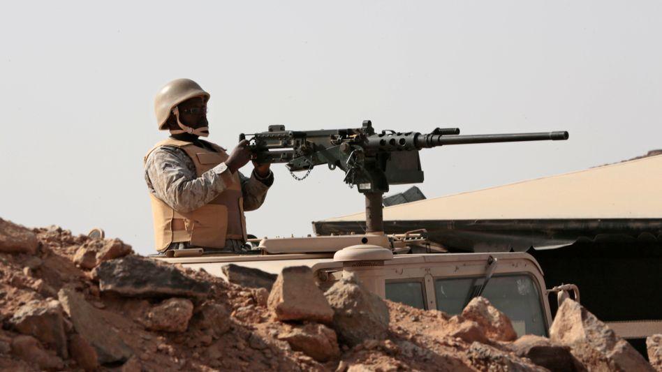 Saudischer Soldat (im Jemen)