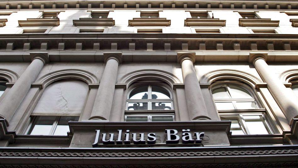 Privatbank Julius Bär: Von der Bundesrepublik Deutschland verklagt
