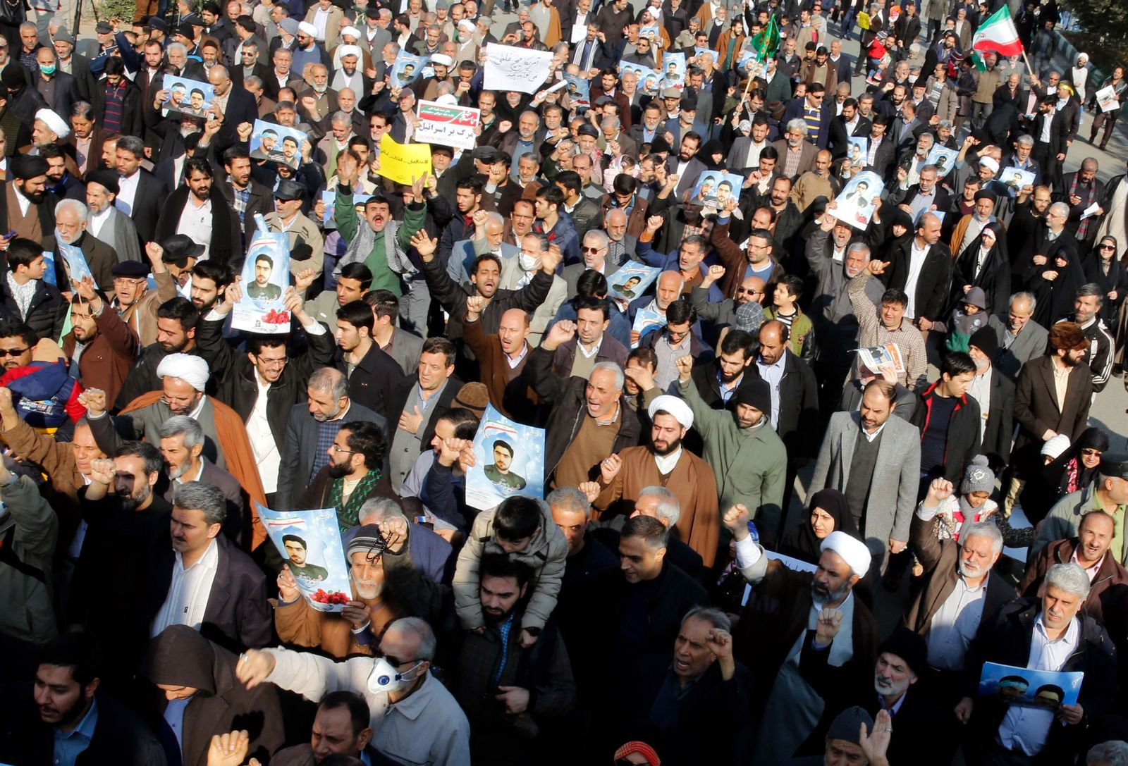 Demo/ Tehran/ Iran