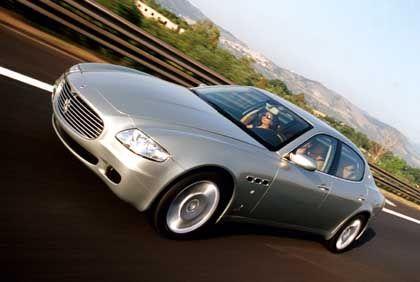 """Maserati Quattroporte: """"Unser Auto ist zu sportlich, um es abzuregeln"""""""