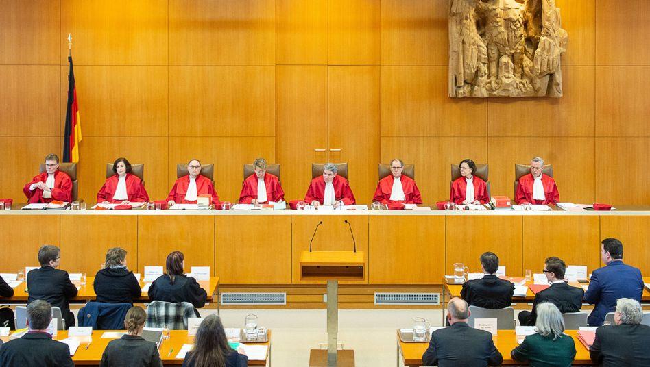 Erster Senats des Bundesverfassungsgerichts
