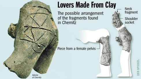 The fragments found in Chernitz may fit together like this.