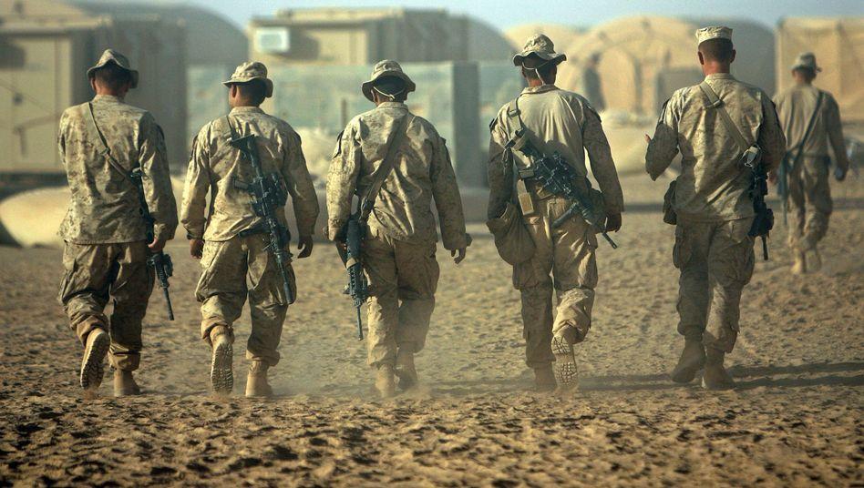 US-Marines in afghanischer Provinz Helmand: Wie funktioniert ein problemloser Abzug?