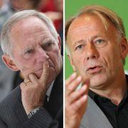 Schäuble und Trittin: Ist Schwarz-Grün ein Modell für den Bund?