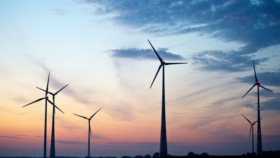 Windräder: Steigende Energiewende-Umlagen belasten den Strompreis