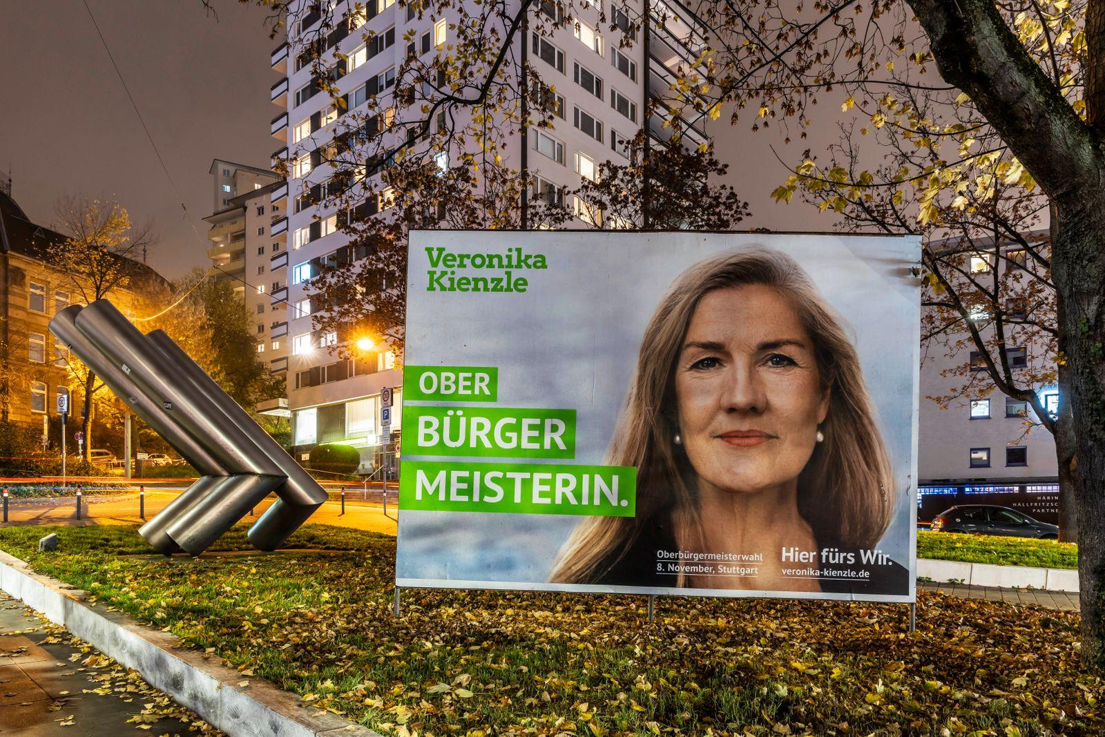 Stuttgart wählt einen neuen Oberbürgermeister. Stichwahl ist am 29. November. Aufgrund der Corona-Pandemie läuft der Wa